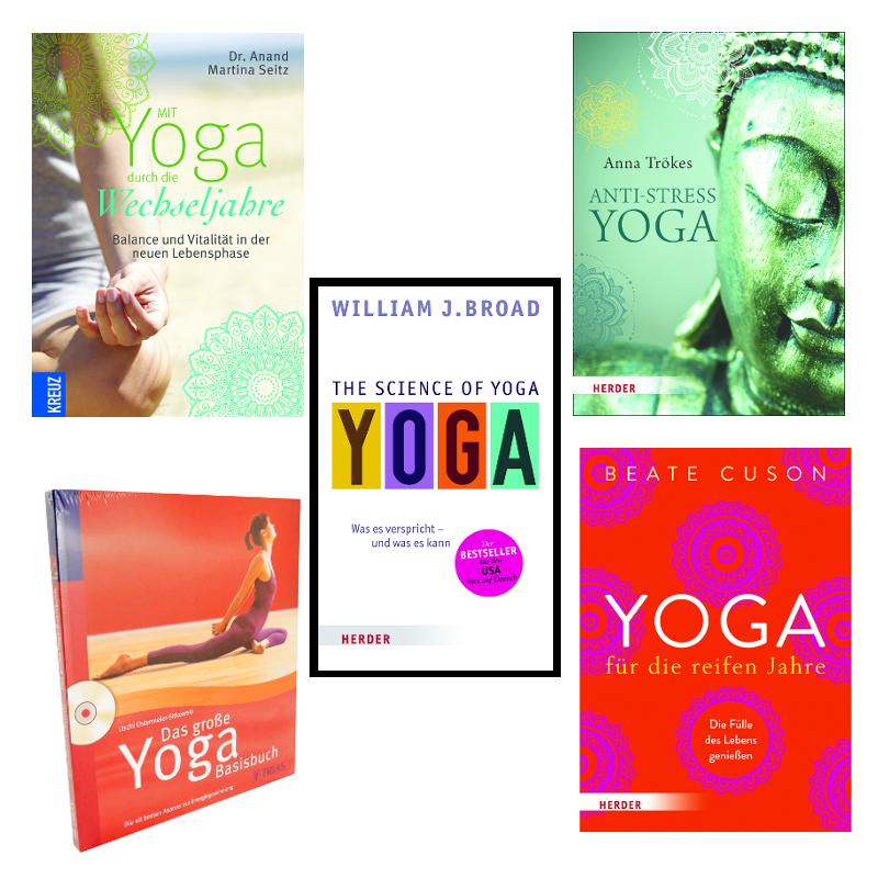 Yoga Buch, Yoga Bücher bei YOGA STILVOLL