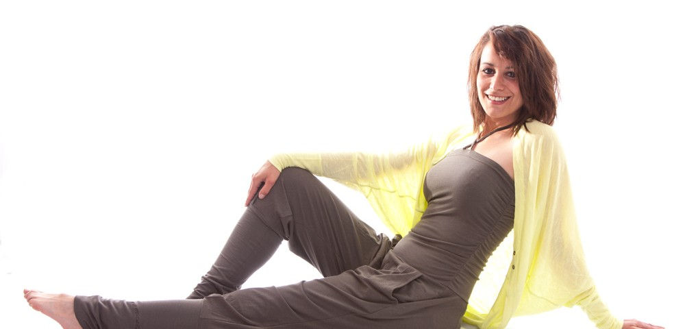 Yoga Kleidung | Kamah | Yoga Jacke Inci lemon | Yoga Kleidung Damen | Yogabekleidung