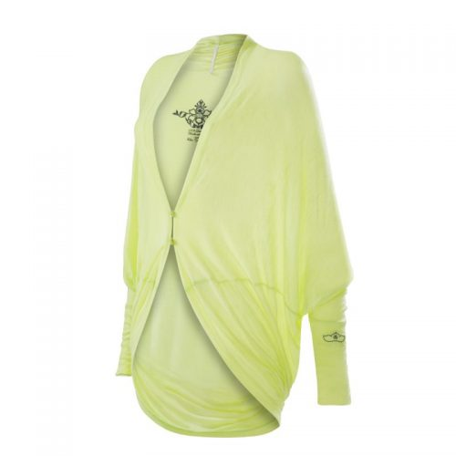 Yoga Kleidung | Kamah | Yoga Jacke Inci | lemon | Yoga Kleidung Damen | Yoga Wear