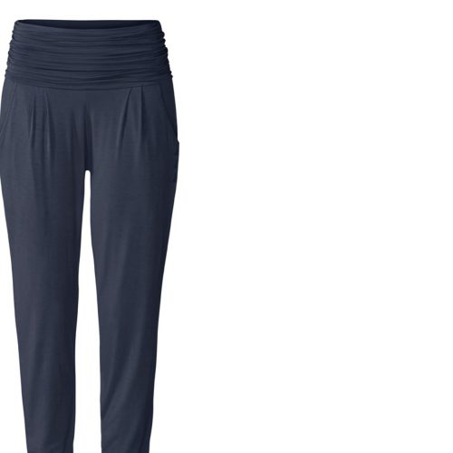 Yogahose | Long Loose Pants von Curare | night blue