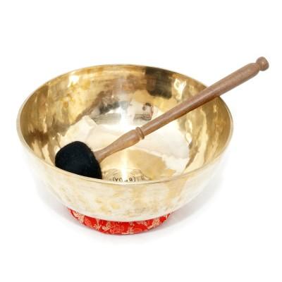 Klangschale neu dünnwandig glänzend 2.165 g, Klangschalen, Tibetische Klangschale, Therapieklangschale