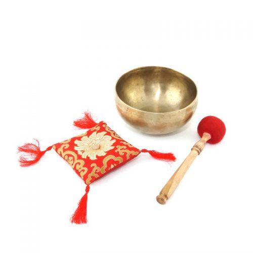 Klangschale | Tibetische Klangschale | Klangschalen kaufen | alt | dünnwandig, bauchig| mat