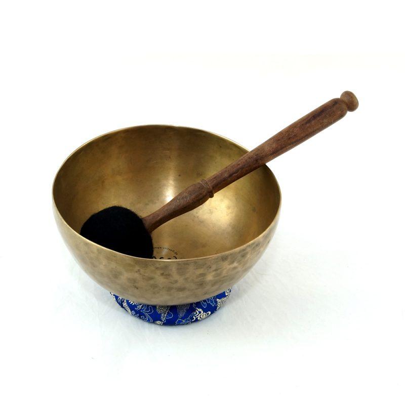 Klangschale | Tibetische Klangschale | Klangschalen kaufen | alt | dünnwandig | matt