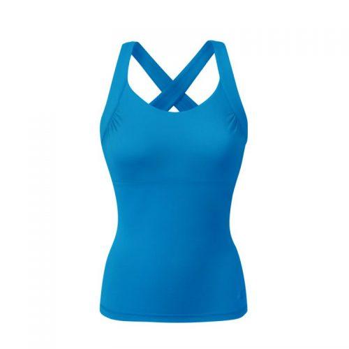 Yoga Kleidung | Curare | Yoga Wear | Cross Top | aqua | Yoga Tops