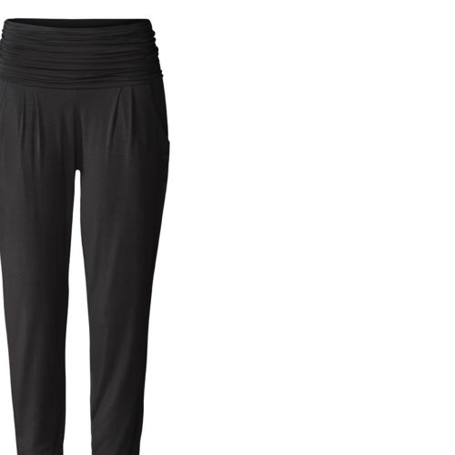 Yoga Hose | Long Loose Pants von Curare | black