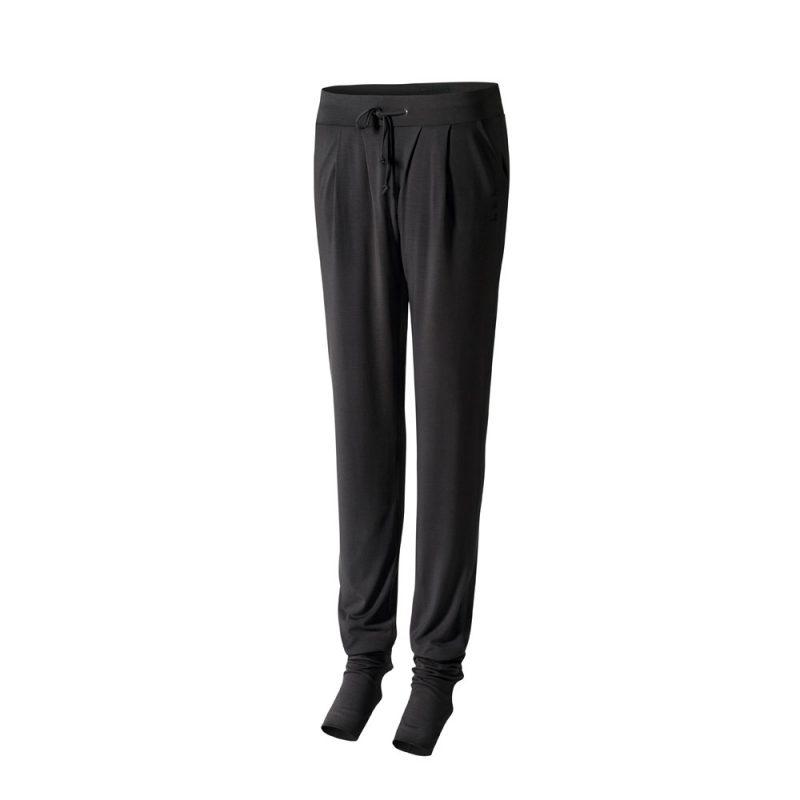 long pants heel yoga hose schwarz yoga stilvoll yoga. Black Bedroom Furniture Sets. Home Design Ideas
