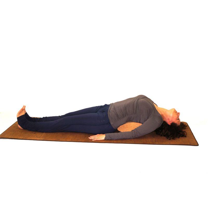 Yoga Shirt - Wrap Shirt von Curare - black   YOGA-STILVOLL