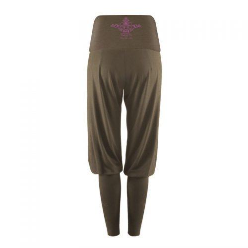 Yoga Pants | Kamah |Overall | Sarouelhose lang Fiona | aloe | Yoga Kleidung | Yogabekleidung | Yoga Hose
