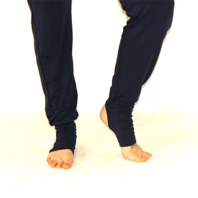 Yogahose schwarz   Yoga Kleidung   Viskose Elasthan