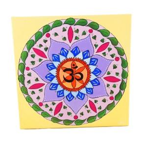 Gemälde Mandala OM | Energiebilder | Spirituelle Bilder kaufen | Accessoires | Mandala Gemälde