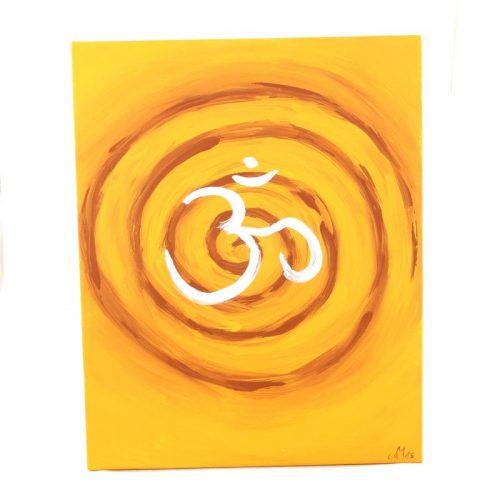 Gemälde OM mit Spirale | Energiebilder | Spirituelle Bilder kaufen