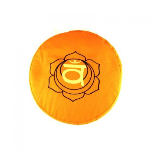 Meditationskissen | Yogakissen | Yoga Sitzkissen |Sakralchakra | Orange
