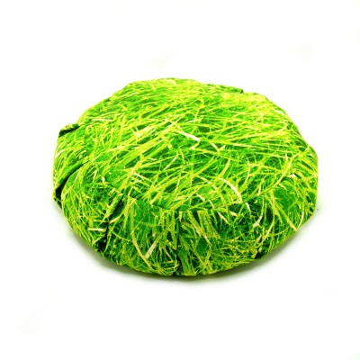 Zafu Kissen, Meditationskissen, grün, Wiese