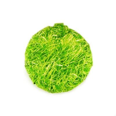 Yogakissen | Meditationskissen grün Wiese | Hervorragend geeignet für Yoga, Meditation, Therapie