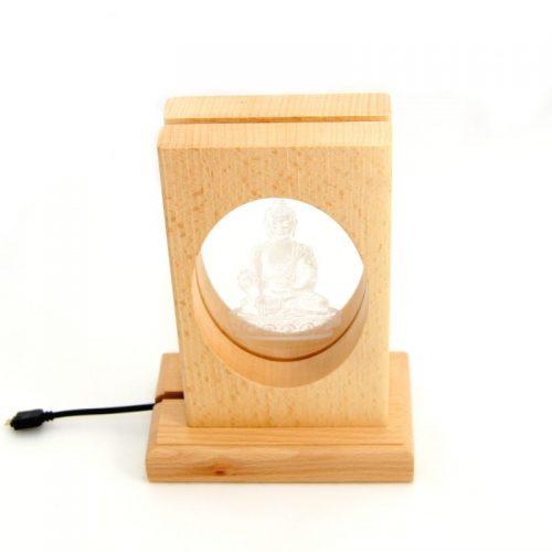 Meditationsleuchte | Stimmungslicht | Lampe| Medizinbuddha | Natur farben