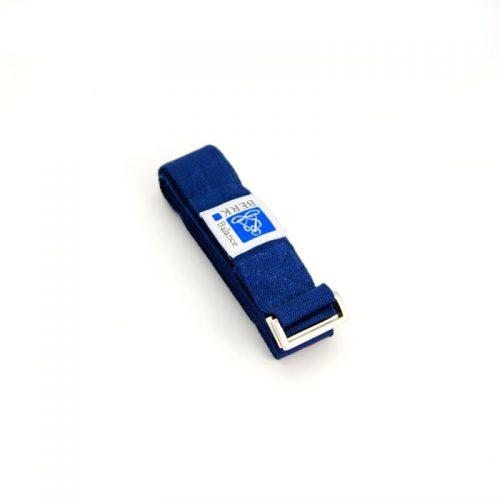 Yoga Gurte | Blau | hohe Reißfestigkeit | Metall Schnalle