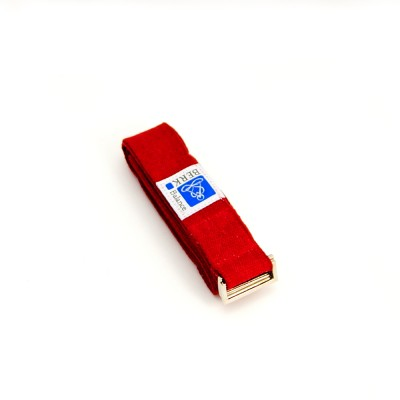 Yoga Gurte | Rot | hohe Reißfestigkeit | Metall Schnalle