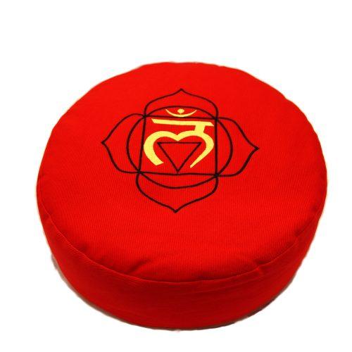 Yogakissen | Meditationskissen | Meditationskissen kaufen | Yoga Sitzkissen | Yogakissen kaufen | Wurzelchakra Rot