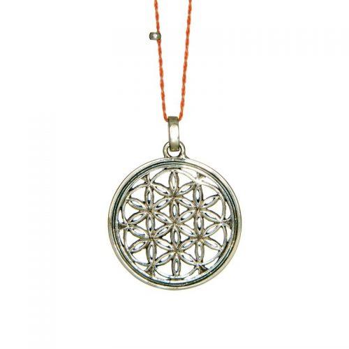 Blume des Lebens Anhänger | Silber Anhänger | Yoga Schmuck | Blume des lebens Schmuck | aus Sterlingsilber gefertigt