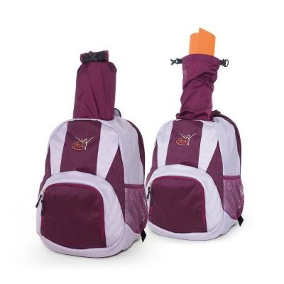 Funktionsrucksack | Wanderrucksack von Deuter | Yogarucksack | violett | Deuter Rucksack | Yoga Rucksack | Rucksack für Matte | YEA!Funktionsrucksack