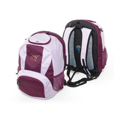 Funktionsrucksack | Yogarucksack | flieder & lila | Deuter Rucksack | Yoga Rucksack | Rucksack für Matte | YEA!Funktionsrucksack