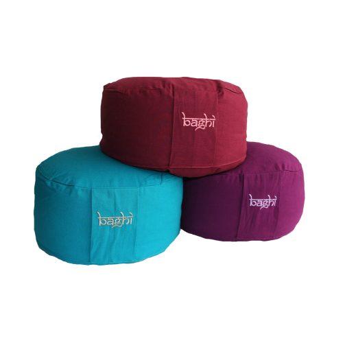 Meditationskissen |Yogakissen | Yoga Sitzkissen rund, in verschiedene farben, mit hochwertigem Bio-Buchweizenspelz gefüllt.