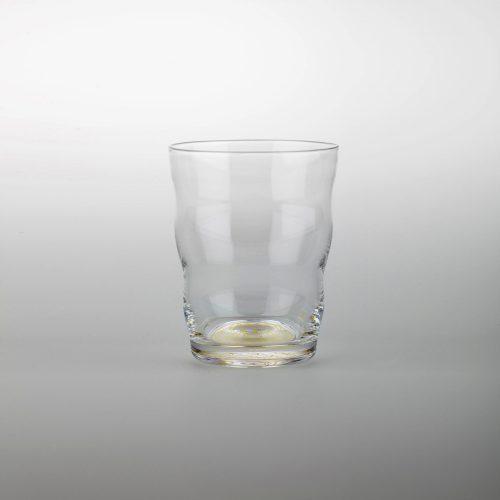 Trinkglas Jasmina, Lebensblume gold | mit Blume des Lebens