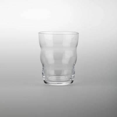 Trinkglas Jasmina, Lebensblume white   mit Blume des Lebens