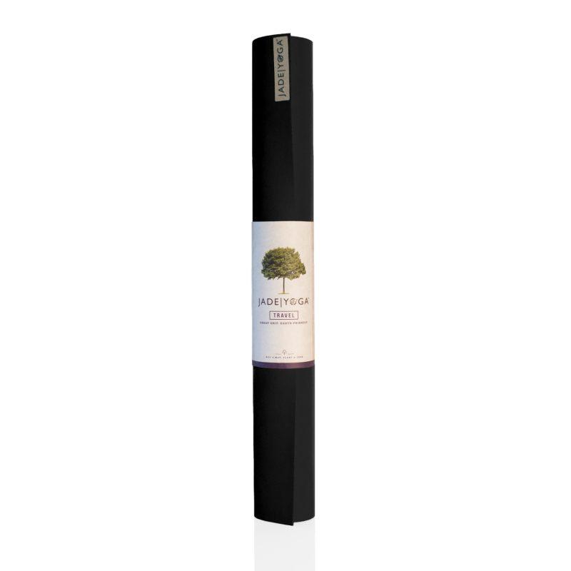 Yogamatte Jade Travel Mat Black 173 Cm Yoga Stilvoll