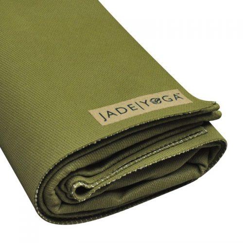 Yogamatte Jade Voyager Green | Yogamatten Naturkautschuk | Yoga Reisematte
