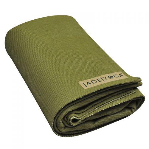 Yogamatte Jade Voyager Grün | Yogamatten Naturkautschuk | Yoga Reisematte
