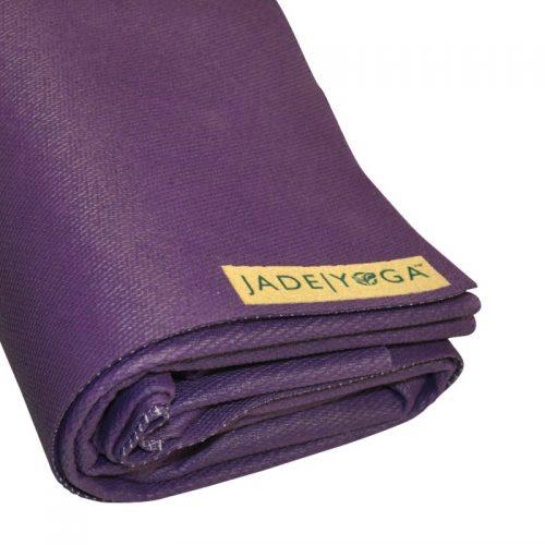 Yogamatte Jade Voyager Purple | Yogamatten Naturkautschuk | Yoga Reisematte kaufen | falbare Yogamatte | Yogamatte zusammenlegbar