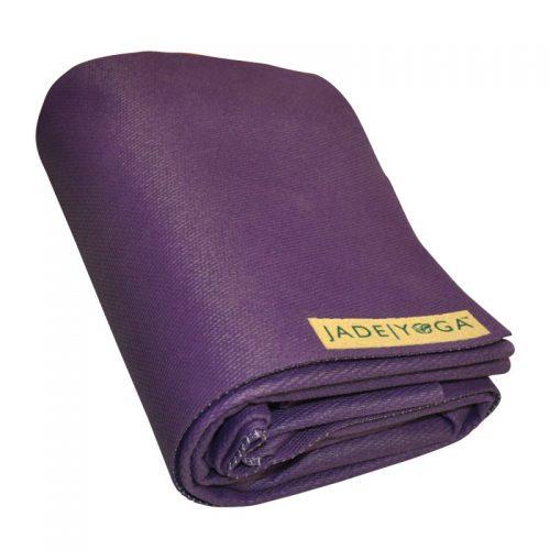 Yogamatte Jade Voyager Lila | Yogamatten Naturkautschuk | faltbare Yogamatten kaufen |Yoga Reisematten kaufen | Yogamatte aus Naturkautschuk