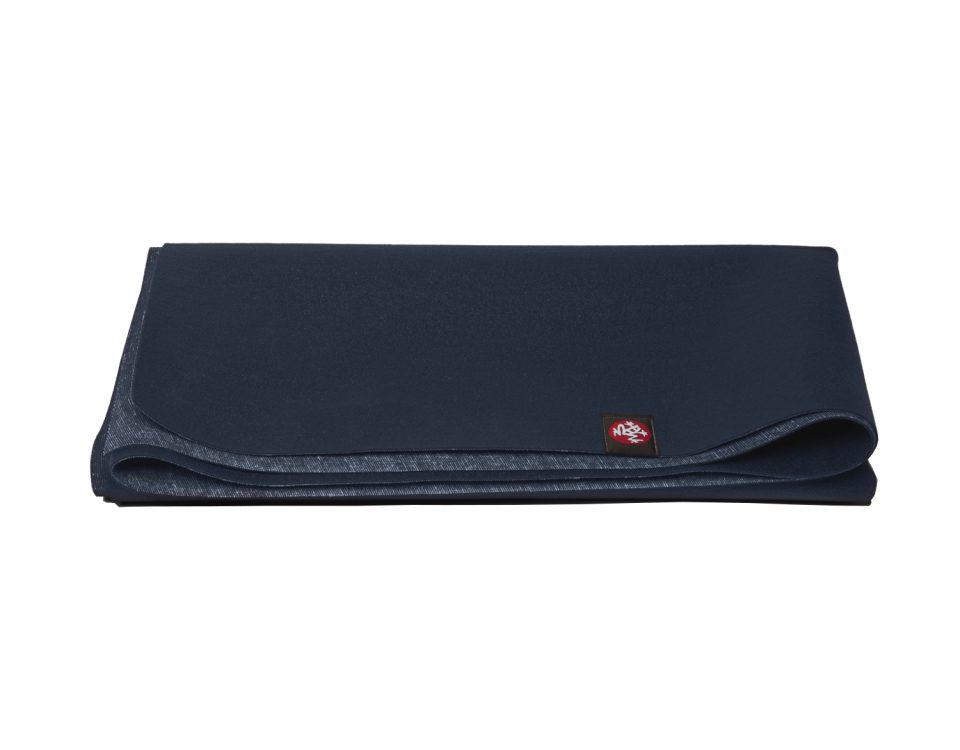 Yogamatte Manduka eKO SuperLite Midnight 2-Tone | Yogamatten Naturkautschuk | Yogamatte faltbar |Fitnessmatte