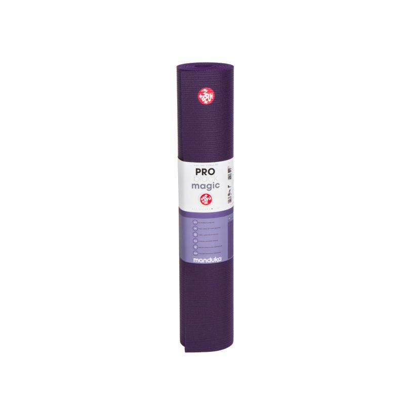 Yogamatte Manduka PRO Black Magic 180cm | YOGA STILVOLL | Pilates Matte | Gymnastikmatte | violett