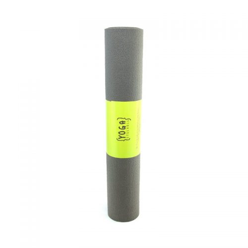 Yogamatte grau 183 x 60 x 0,3 Öko Tex | Pilatesmatte | Gymnastikmatte | YOGA STILVOLL | Yoga Shop