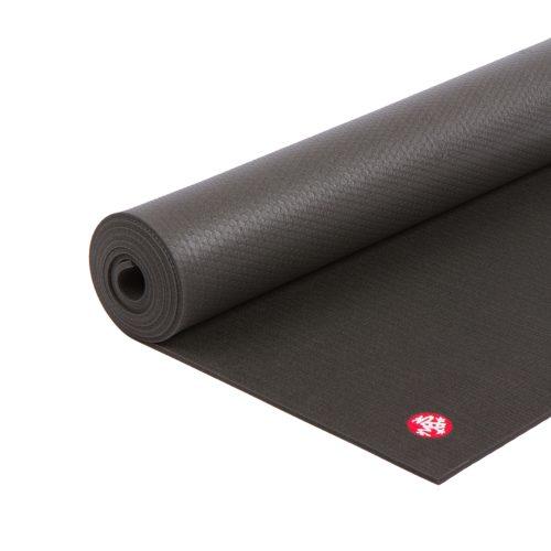 Yogamatte Manduka PRO Black Mat 216cm | Pilates Matte | Gymnastik Matte | schwarz