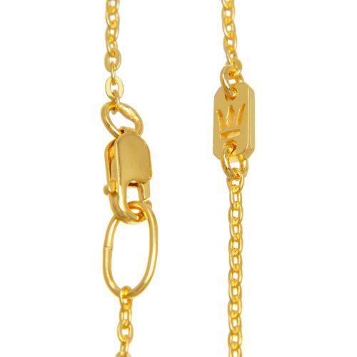 Halskette Gold Ankerkette | Halskette vergoldet | Halskette kaufen | Halsketten kaufen | Halskette 18 Karat vergoldet | Ankerkette kaufen | Ankerketten kaufen