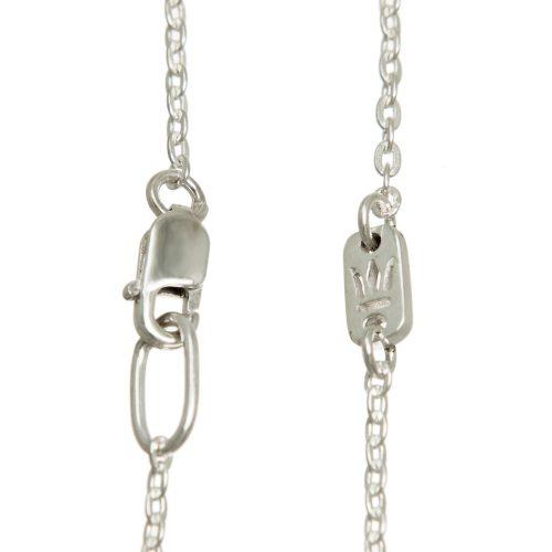 Halskette bicolor Silber Gold Ankerkette   Halskette kaufen   Halsketten kaufen   Halskette teilvergoldet