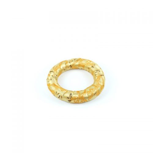 Klangschalenkissen Ring golden 12.5 cm