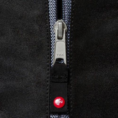 Manduka Yogatasche Go Light Black | Tasche für Yogamatte | Passend für viele Yogamatte wie die Manduka eKO Lite, SuperLite, PROlite, Jade Travel