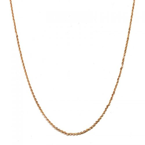 Halskette Rosegold | Halskette Rosegold Ankerkette vergoldet