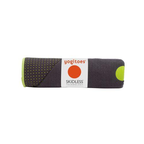 Manduka Mattentuch yogitoes Thunder | rutschfest bei anstrengenden Yoga Haltungen