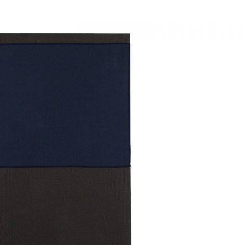 Manduka eQua Yoga Handtuch Midnight| das ideale Handtuch für Gesicht und Hände