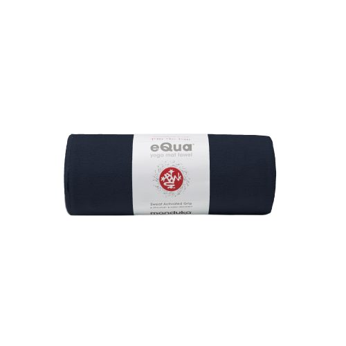 Yoga Handtuch eQua Mat Towel Midnight   Mattentuch   Yoga Handtuch rutschfest