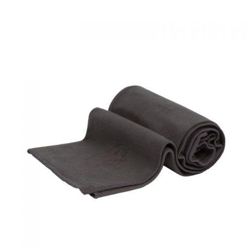 Manduka eQua Yoga Handtuch Thunder | das ideale Handtuch für Gesicht und Hände