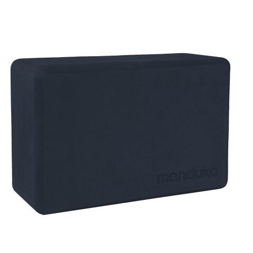 Yoga Blocks | Manduka Recycled Foam Block Midnight| besteht garantiert aus 50% recyceltem EVA-Schaum