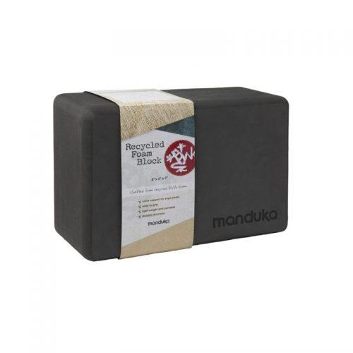 Yoga Blocks | Manduka Recycled Foam Block Thunder | Yoga Block | Yoga Blocks | Yoga Blöcke | Yoga Blocks kaufen | Manduka | Yoga Stilvoll