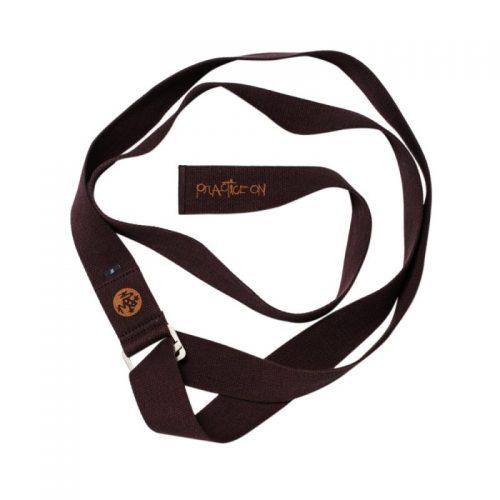 Yoga gurt Manduka Align Raisin| Manduka Yogagurt Align Yoga Strap