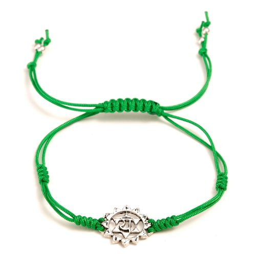 Chakra Armband   mit Herz Chakra   aus Sterling Silber   Yoga Schmuck   Chakra Armband kaufen